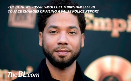 The BL News- Jussie Smollett turns himself in to face charges of filing a false police report