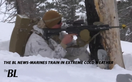 The BL News-US Marines Train in Extreme cold weather