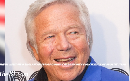 The BL News-New England Patriots owner charged with solicitation of prostitution
