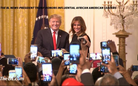 President Trump honors African American leaders
