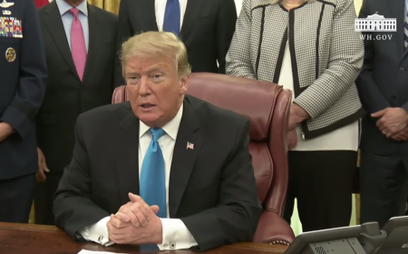 President Trump Participates in a Signing Ceremony for Space Policy Directive