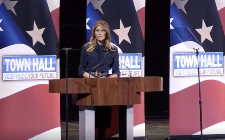 The BL News—First lady Melania Trump addresses the opioid crisis
