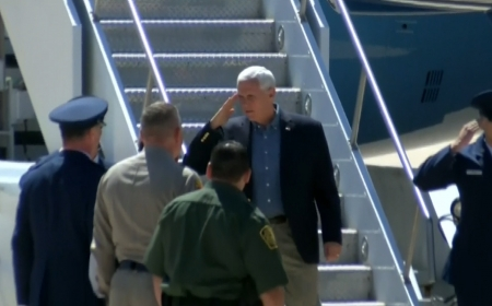 Vice President Mike Pence says Congress must close loopholes in asylum laws