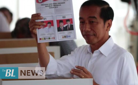Indonesian president re-elected for second term