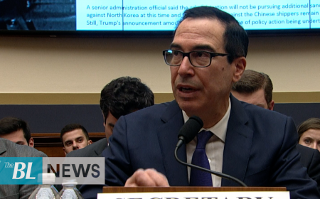 Mnuchin updates Congress on Currency and Tax Returns