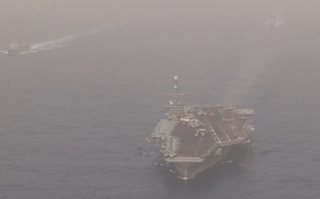 US deploys aircraft carrier group