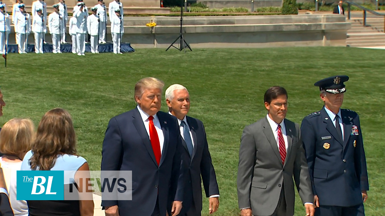 Trump Honors new Secretary of Defense Mark Esper – TheBL com