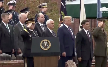 Welcome Ceremony in Honor of the Twentieth Chairman of the Joint Chiefs of Staff