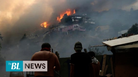Fires in Valparaiso: 200 homes destroyed