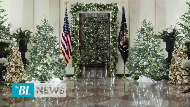 The BL news in 3 - Trump departs for London for NATO summit - White House unveils 2019 Christmas decorations | TheBL.Com