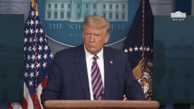 09/18/20 President Trump holds a news conference