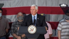 Vice President Pence delivers remarks at a made in America event