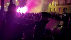 French protests over proposed police identification law